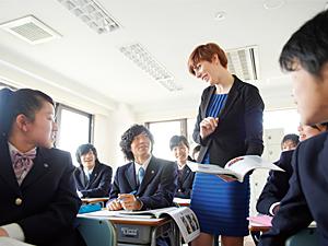 英語の授業風景