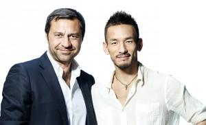 ジョルジオ・ダミアーニ氏と中田英寿氏