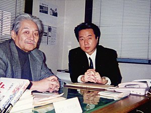 杉原弘樹氏と平岡洋氏